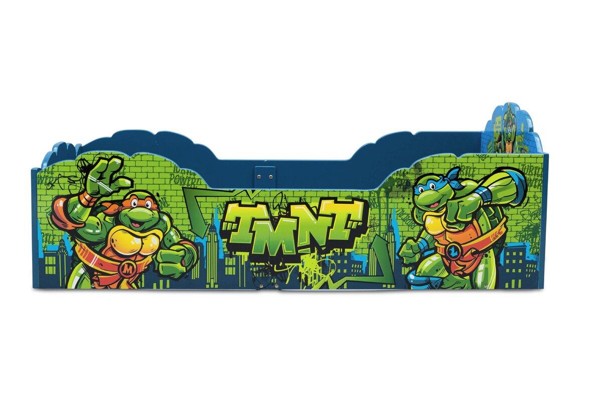 Age Mutant Ninja Turtles Toddler Bed