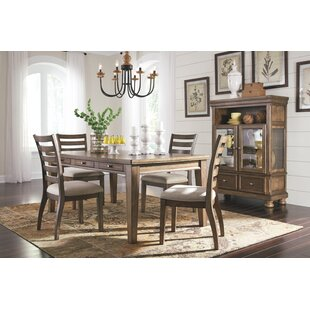 Penwortham 5 Piece Solid Wood Dining Set Three Posts