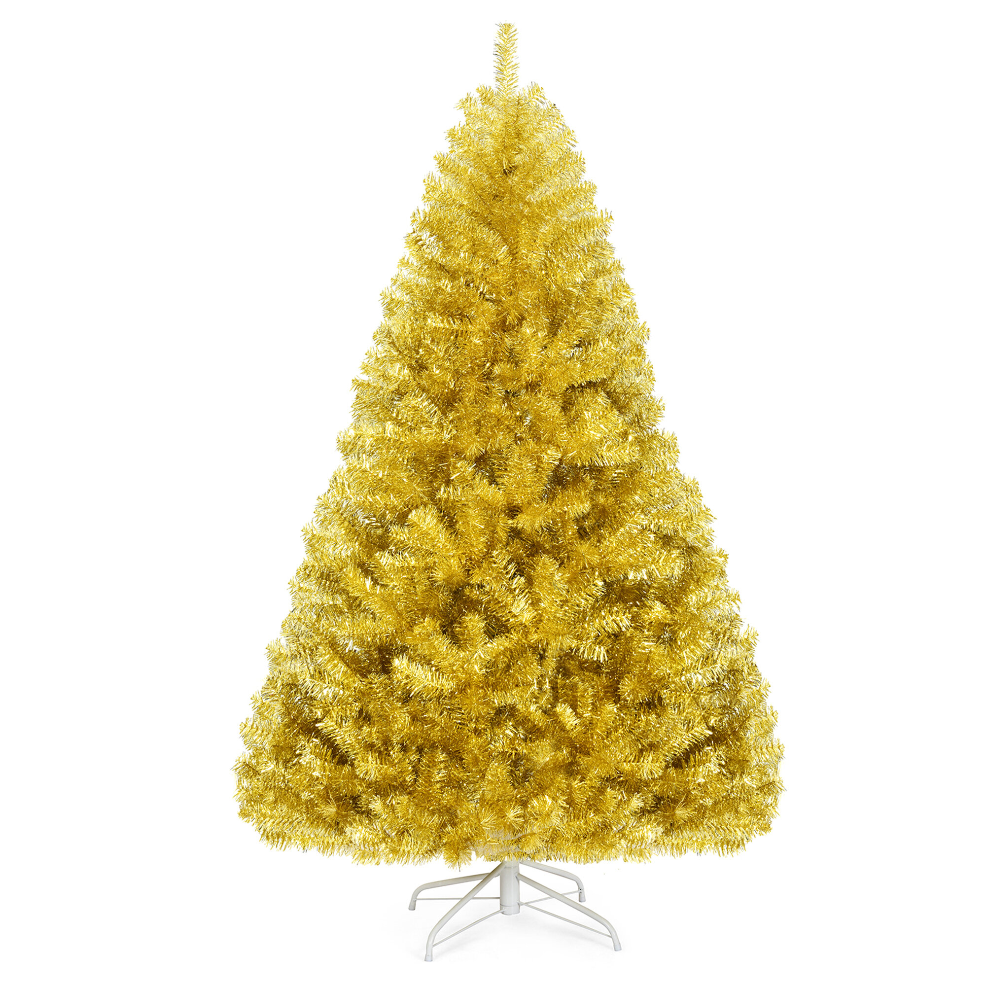 The Holiday Aisle Champagne Gold Pine Artificial Christmas Tree Wayfair