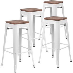 Jackie 24 Bar Stool (Set of 4) by Williston Forge