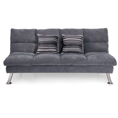 jena fabric sleeper sofa with 2 pillows - Crypton Sofa
