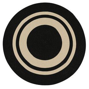Read Reviews Don Hand-Braided Black/Beige Indoor/Outdoor Area Rug ByEbern Designs