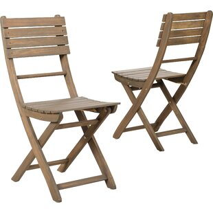 Phenomenal Carthage Folding Patio Dining Chair Set Of 2 Evergreenethics Interior Chair Design Evergreenethicsorg