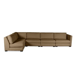 Timpson Left Hand Facing Left LShape Modular Sectional