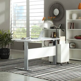Savings Murphree Adjustable Height Standing Desk By Latitude Run
