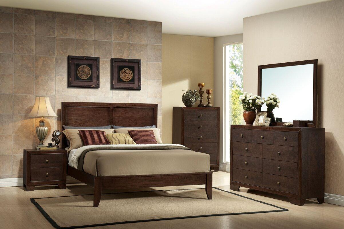 ACME Furniture Madison Panel Customizable Bedroom Set & Reviews ...
