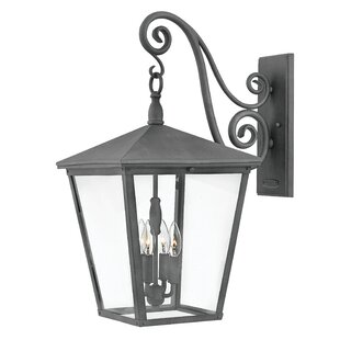 Price comparison Trellis 4-Light LED Outdoor Wall Lantern By Hinkley Lighting