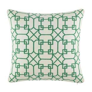 Ashcraft 100% Cotton Throw Pillow