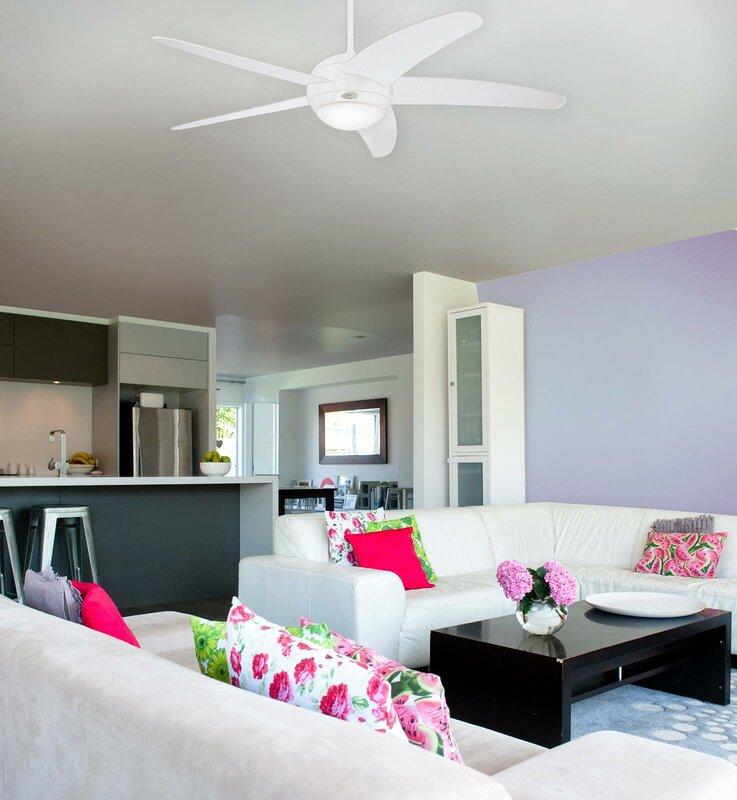 westinghouse 132 cm deckenventilator bendan mit. Black Bedroom Furniture Sets. Home Design Ideas