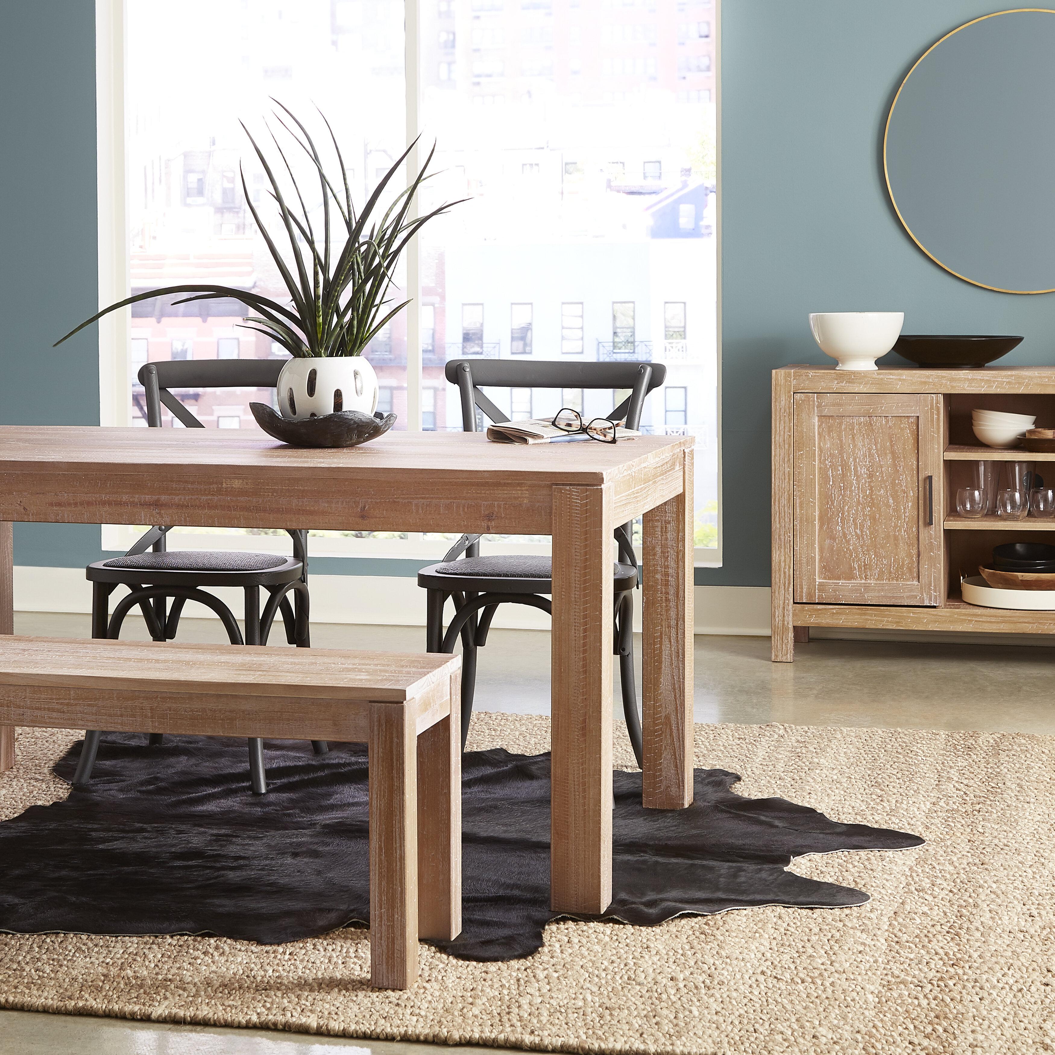Grain Wood Furniture Montauk Pine Solid Wood Dining Table Reviews
