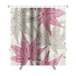 Leaves Maple Leaves, Autumn Leaf Premium Single Shower Curtain