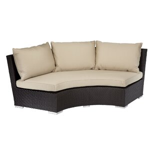 Solana 1/4 Round Patio Sofa with Sunbrella Cushion