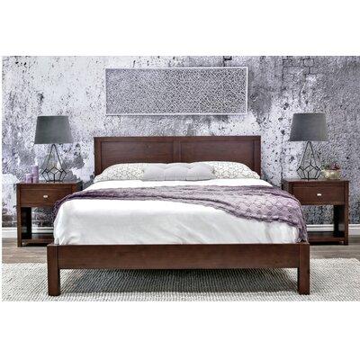 Erskine Platform Bed Size: King