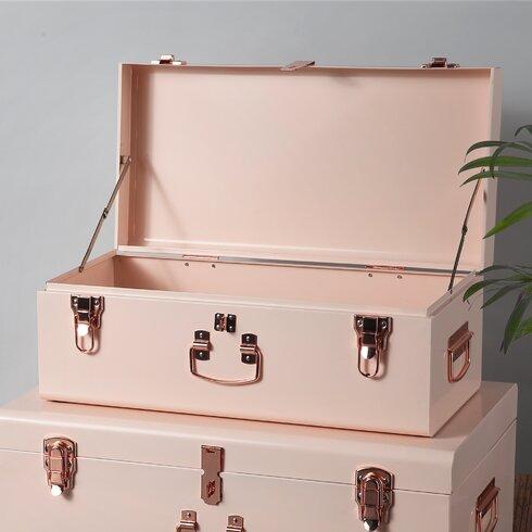Beautify 2 Piece Storage Trunk Set | Wayfair