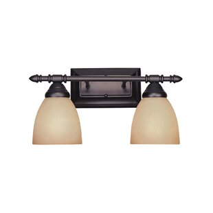 Best Alexandria 2-Light Vanity Light By Fleur De Lis Living