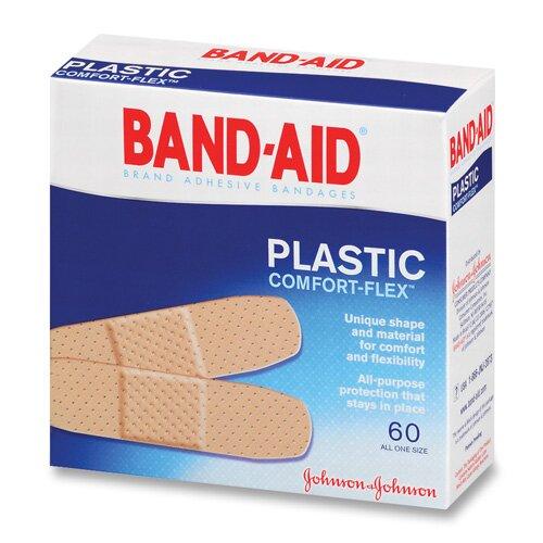 johnson johnson johnson band aid plastic bandages 60 per box