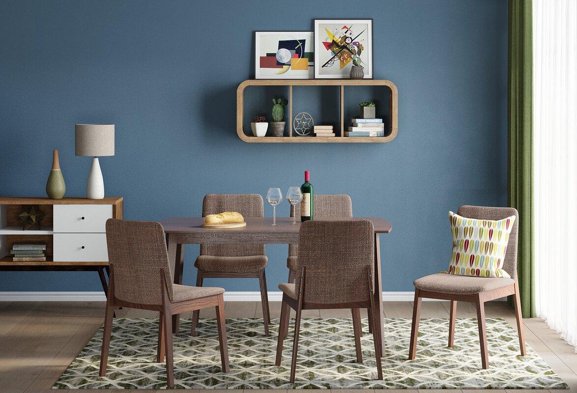 ScanMod Design Essgruppe Tahquitz mit ausziehbarem Tisch und 4 ...