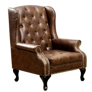 Cardella Wingback Chair by Alcott Hill