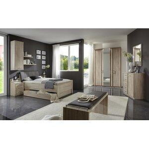 Anpassbares Schlafzimmer-Set Meran, 90 x 200 cm ..