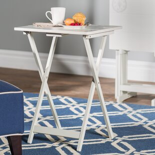 Ally 5 Piece TV Tray Table Set with Compass & TV Trays Youu0027ll Love | Wayfair