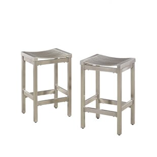 Dorathy 24 Bar Stool (Set Of 2) by Everly Quinn 2019 Coupon