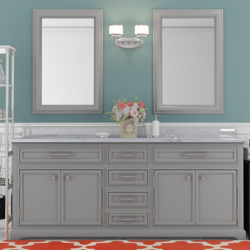 Bergin 72 Double Bathroom Vanity Set