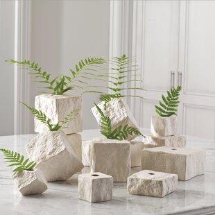 Rocky Block Table Vase