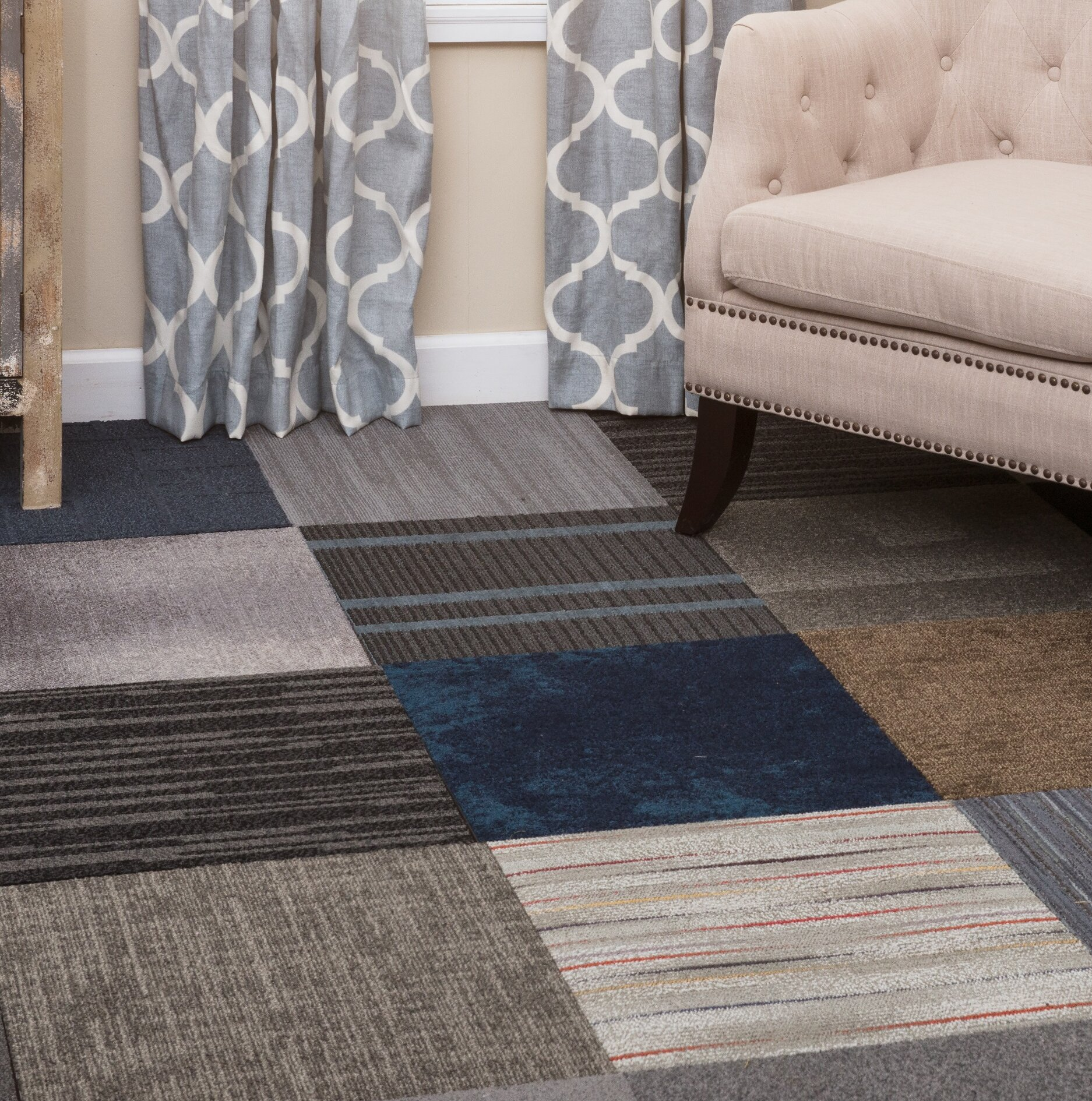 Nance Industries Diy 20 X 20 Plush Cut Peel And Stick Carpet Tile Reviews Wayfair