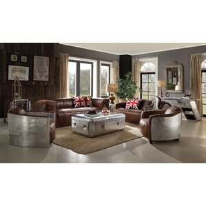 17 Stories Constancia 2 Piece Living Room Set