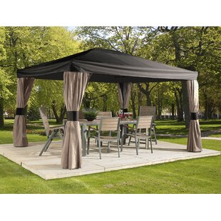 Horizon 14 Ft. W x 10 Ft. D Aluminum Permanent Gazebo  sc 1 st  Wayfair & Metal Gazebos Youu0027ll Love | Wayfair