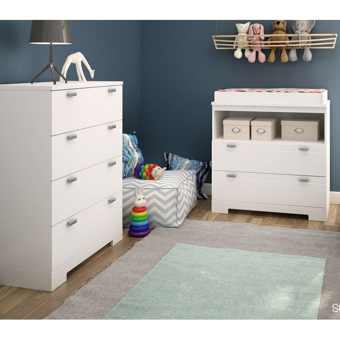 Reevo 2 Piece Changing Table Set