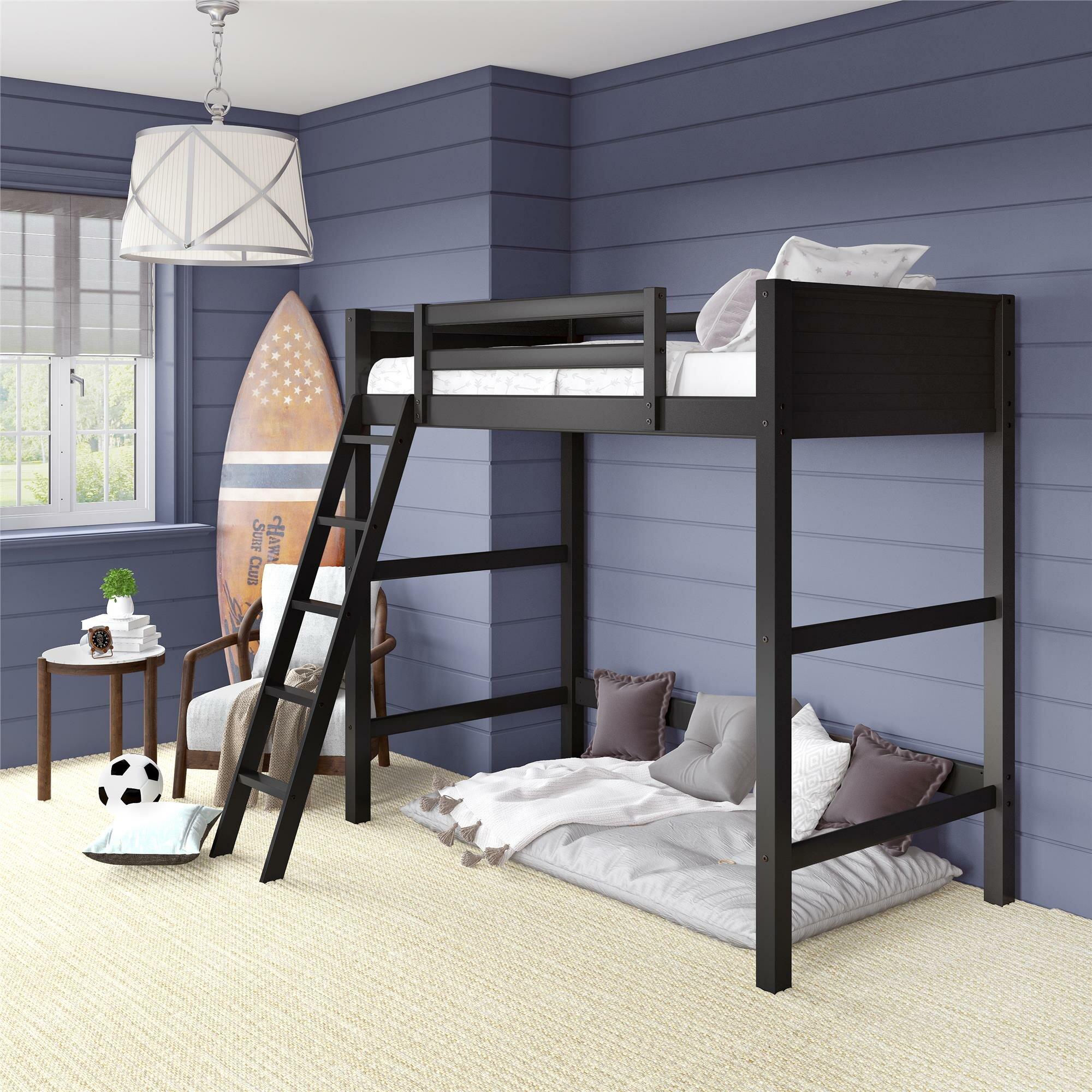 Picture of: Kids Twin Loft Beds Wayfair