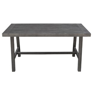 Densmore Patio Wooden Dining Table by Darby Home Co Best Design