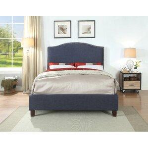 Edinburgh Queen Upholstered Panel Bed by Alcott Hill
