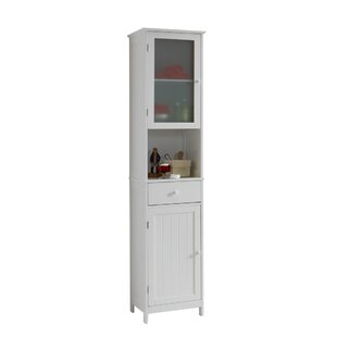 Belfast 40 x 180cm Free Standing Tall Bathroom Cabinet by Beachcrest Home