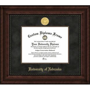 NCAA Nebraska Cornhuskers Executive Diploma Frame By Campus Images