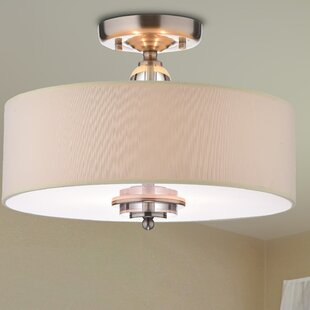 Looking for Franklin Square 3-Light Flush Mount By Charlton Home