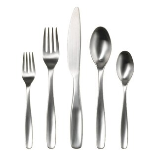 Vault 20 Piece 18/10 Stainless Steel Flatware Set, Service for 4