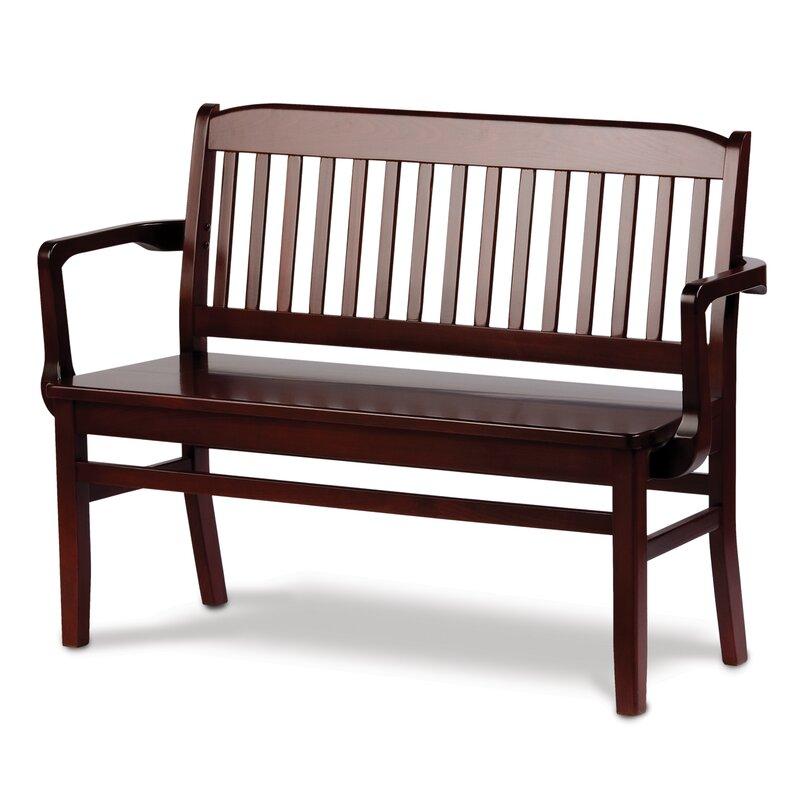 Holsag Bulldog Two Seat Bench   Wayfair