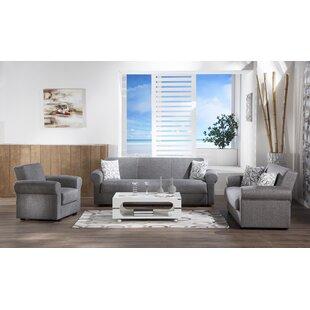Elita 3 Piece Living Room Set by Decor+
