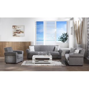 Elita 3 Piece Living Room Set by Red Barrel Studio