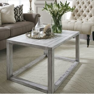 Oslo Pine Wood Coffee Table by Williston Forge
