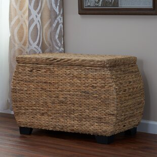 Find a Natural Water Hyacinth Wicker Box By Rosecliff Heights
