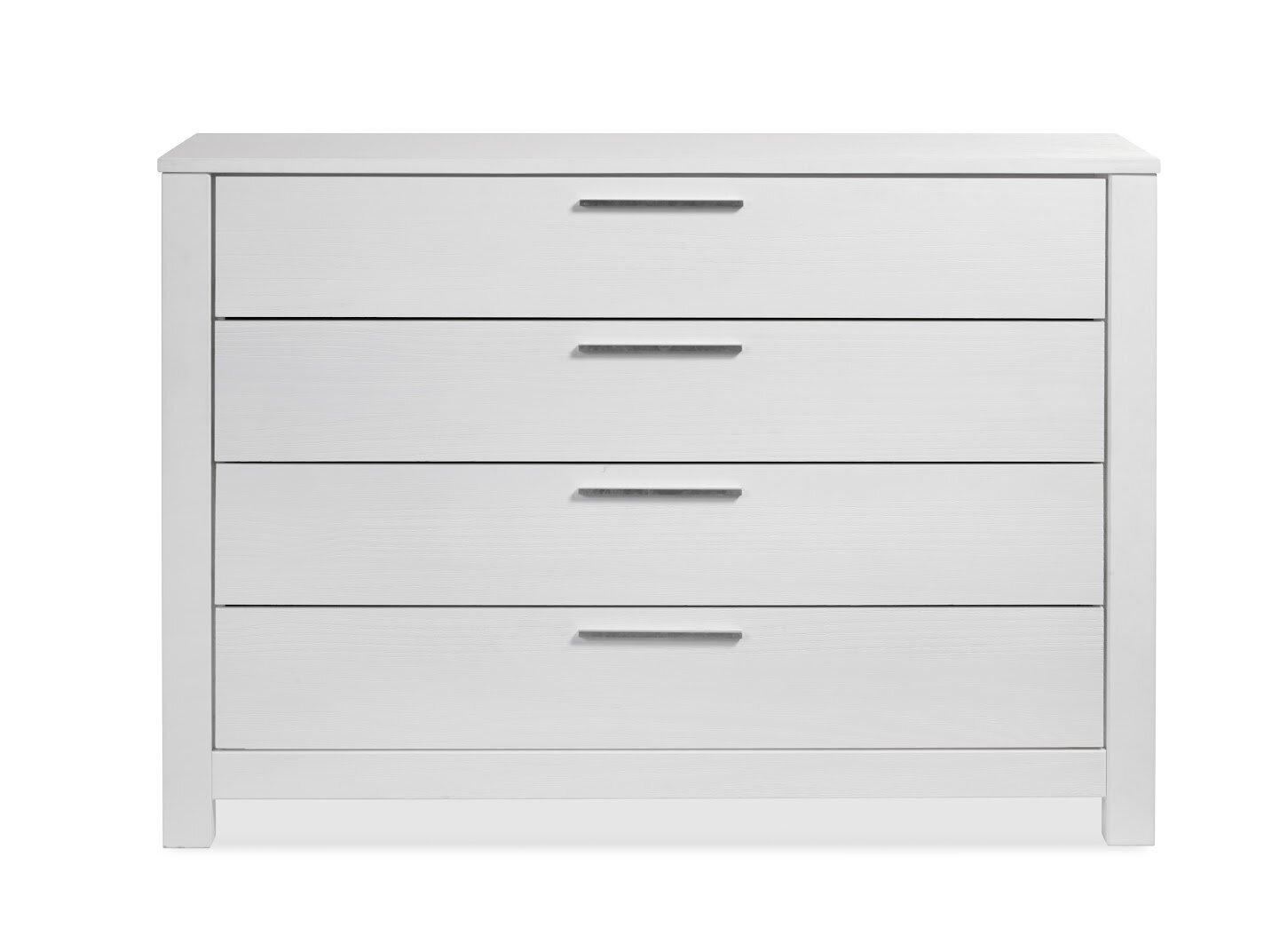 Grain Wood Furniture Loft 4 Drawer Dresser Reviews Wayfair