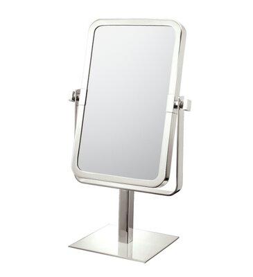 Mirror Image Mirror Image Rectangular Vanity Mirror Finish: Brushed Nickel