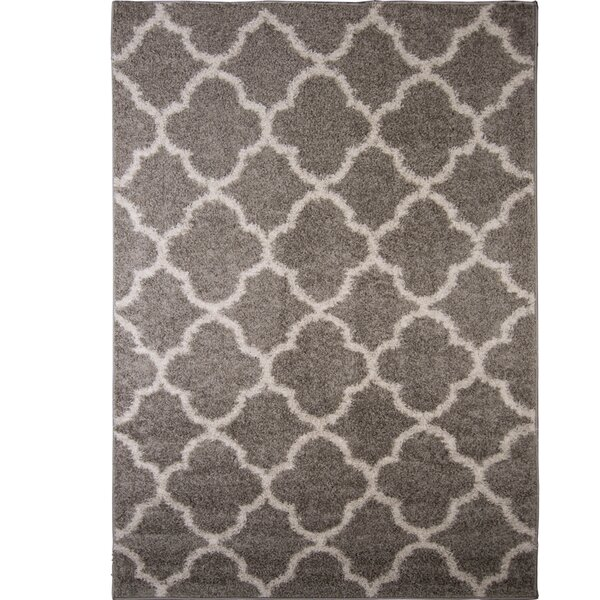 Nicole Miller Synergy Gray/White Area Rug & Reviews by Nicole Miller