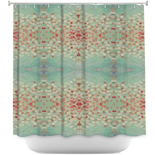Abstract Single Shower Curtain