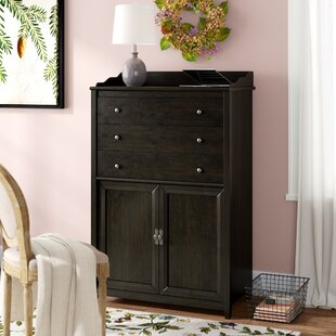 Paddock Armoire Desk by Three Posts Reviews