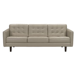 Erykah Leather Sofa by Brayden Studio