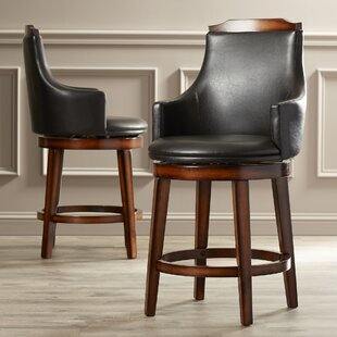 Allenville 24 Swivel Bar Stool (Set of 2) Three Posts